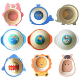 Baby Cute Natural Bamboo Fiber Bowls-Shopper Baby
