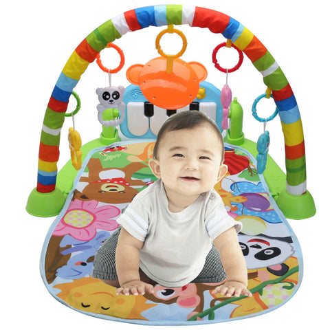 3 in 1 Educational Baby Music Play Mat-Shopper Baby