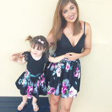 Mother and Daughter Summer Match Outfit-Shopper Baby