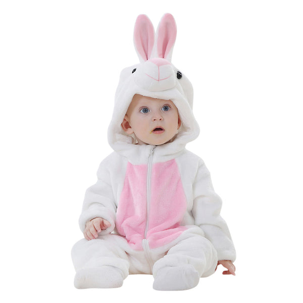 Hooded Rompers Rabbit Style-Shopper Baby