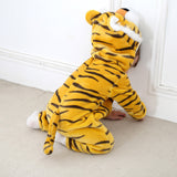 Hooded Rompers Tiger Style-Shopper Baby