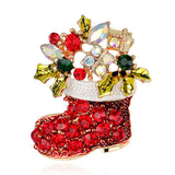 Christmas Brooch and Pins-Shopper Baby
