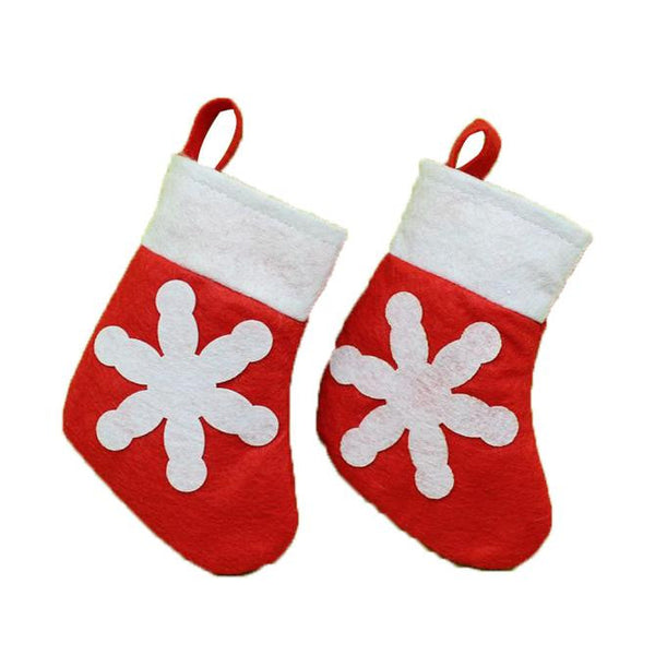 Hot Christmas Stocking Xmas Hanging Decoration Party Ornament-Shopper Baby