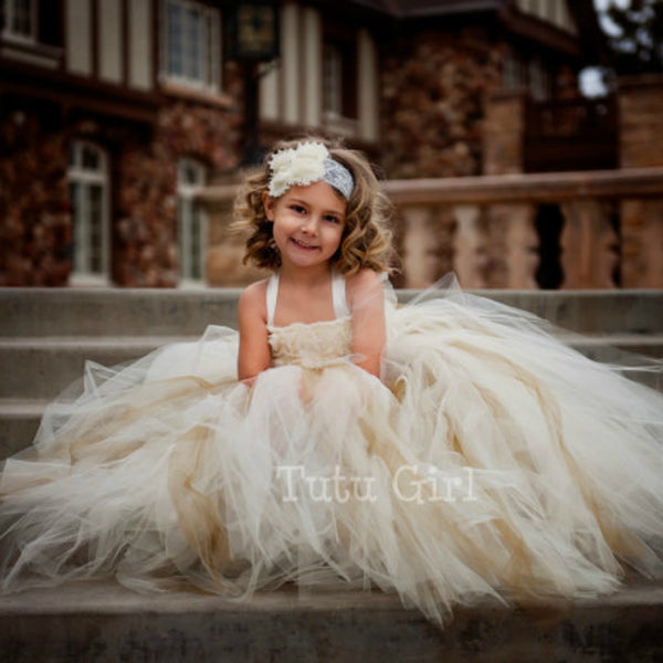 Gorgeous Vintage Wedding Flower Girl Dress-Shopper Baby