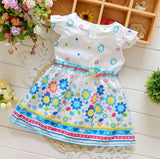 Lovely Baby Girls Sunflower Dress-Shopper Baby