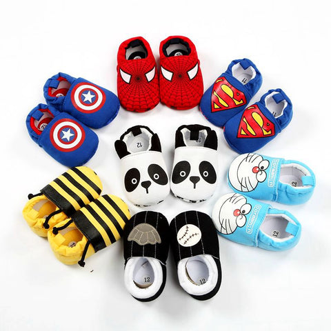 Baby First Walker Superman Bee Shoes-Shopper Baby