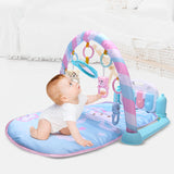 Baby Play Mat 0-12 Months Soft Lighting Rattles Musical Toys-Shopper Baby