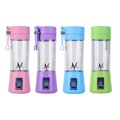 4/6 Blades Juicer Bottle Portable Mini USB Electric Fruit Juicer Blender-Shopper Baby