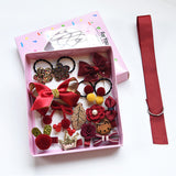 Hot Sale 18Pcs/set Headwear Set Baby Girls Hairpins and Headband Bowknot-Shopper Baby