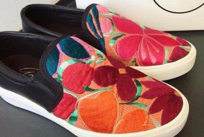 Hand Embroidered Oaxaca Shoes