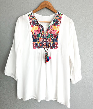 Hindu embroidered Top