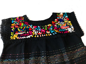 Mexican Top Embroidered Paloma