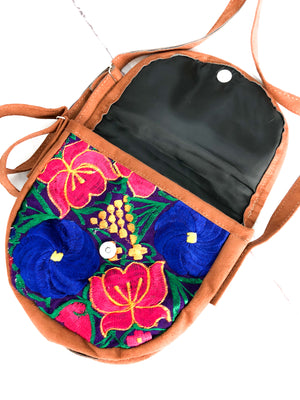 Embroidered Crossbody Bag-wholesale