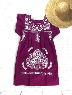 Mexican Dress Violet