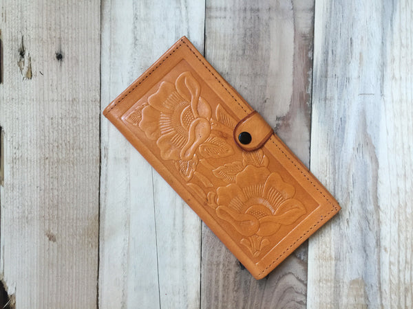 Hand Made Mexican Leather Wallet
