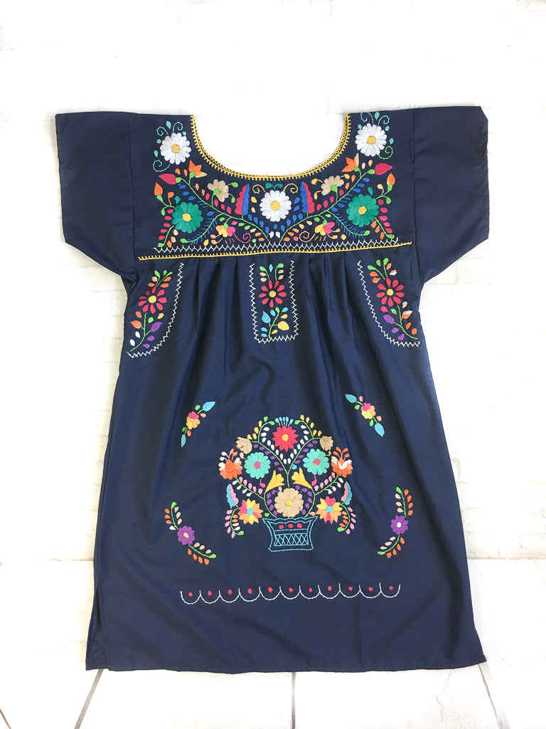 Mexican Dress Plus Size   Puebla Dress   Traditional Mexican Dress ...