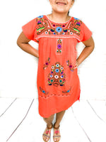 Mexican Dress Boho Frida Kahlo Style Puebla Dress (Available in Multiple Colors; Free Shipping)
