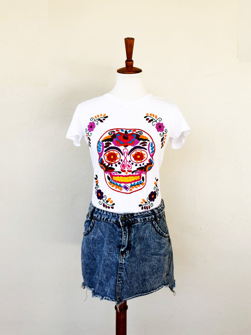 Catrina Shirt; Mexican Top