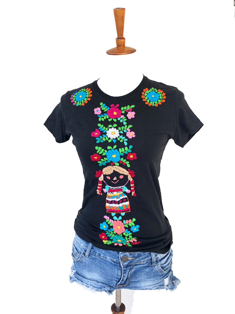 Maria Shirt; Mexican Top