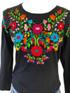 Mexican Shirt; Mexican Top long sleeves