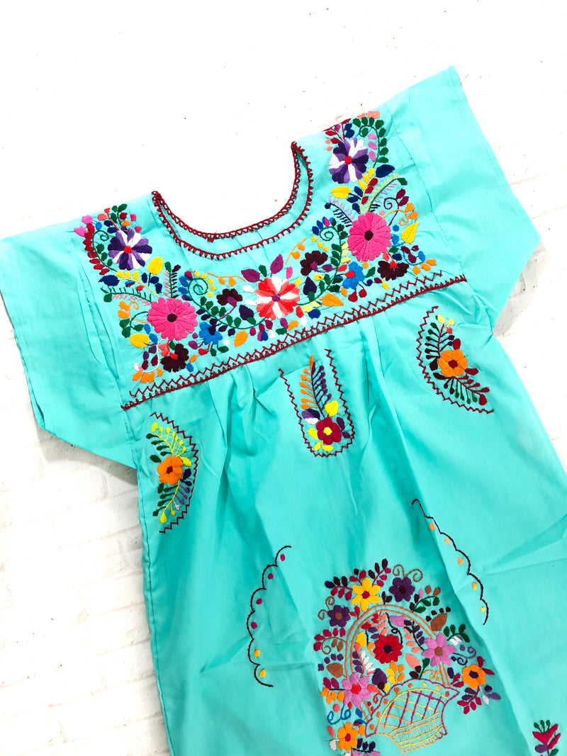 Mexican dress mint