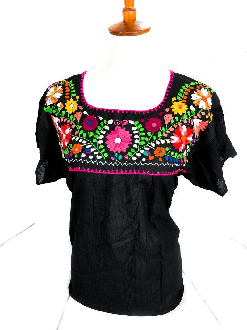 Embroidered Top Margarita-wholesale