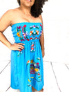 Mexican Dress Strapless-wholesale
