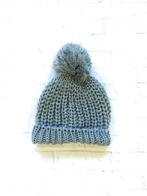 Crochet Hat with Pom Pom