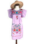 Mexican Dress; Embroidered Dress