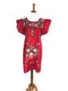 mexican dress red