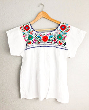 Mexican Top Embroidered