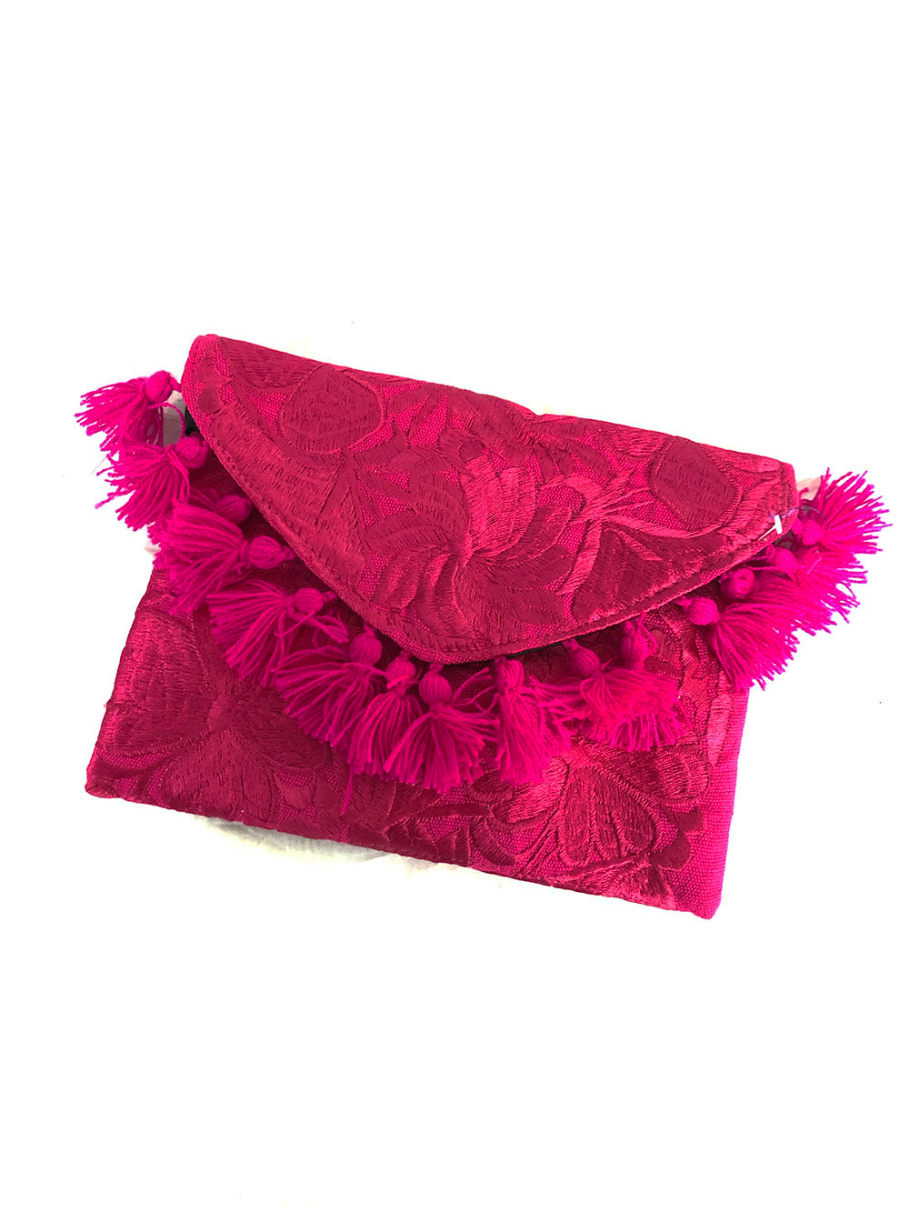 Embroidered Clutch Chiapas