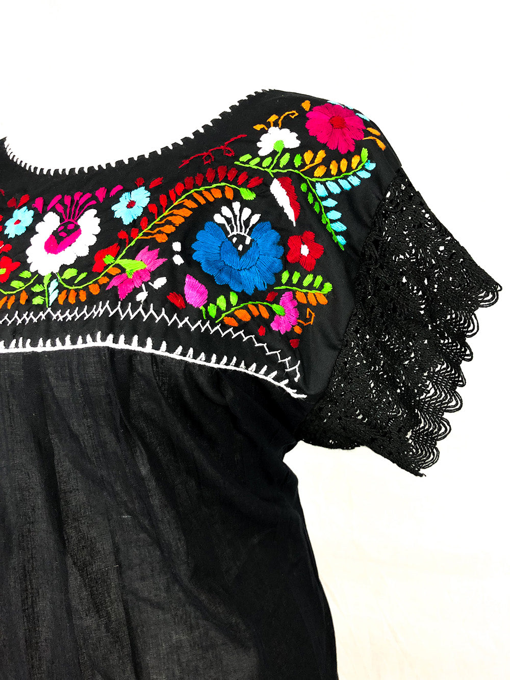 Embroidered Top Margarita Lace