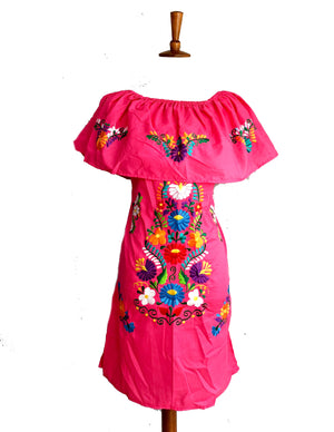 mexican dress off the shoulder