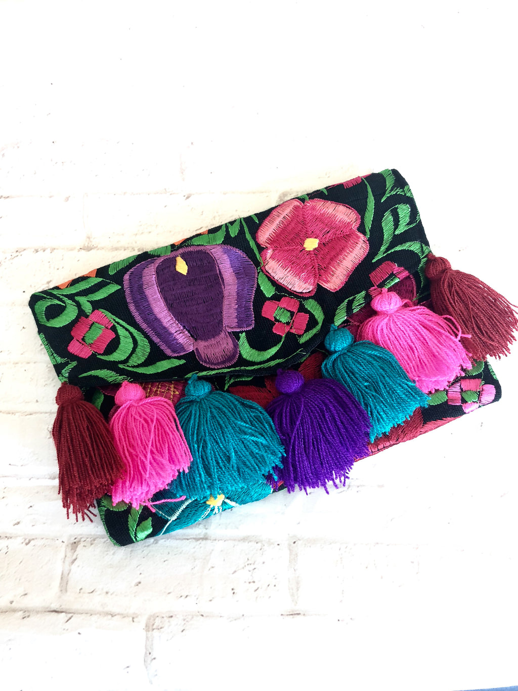 Embroidered Clutch Chiapas-wholesale