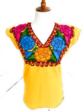 Mexican Embroidered Top Zinacantan