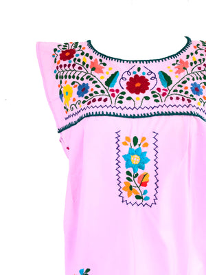 Mexican Dress; No sleeves