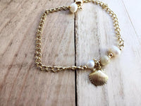 Pearl and Shell Bracelet