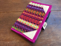 Embroidered Notebook; travel journal