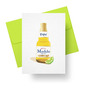 Papá Eres Un Modelo Especial - Spanish Fathers Day Greeting Card