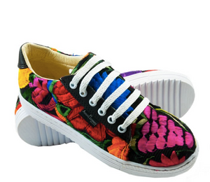 Hand Embroidered Guanajuato Shoes