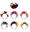 Headband Costume Rose Flower Crown