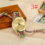 Braided Friendship Bracelet Watches