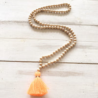 Long Necklace Handmade Trendy Beads Bohemia Style