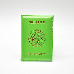 Mexico Travel Passport Cover