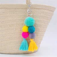 Big Ball Pom Pom Bag Charms