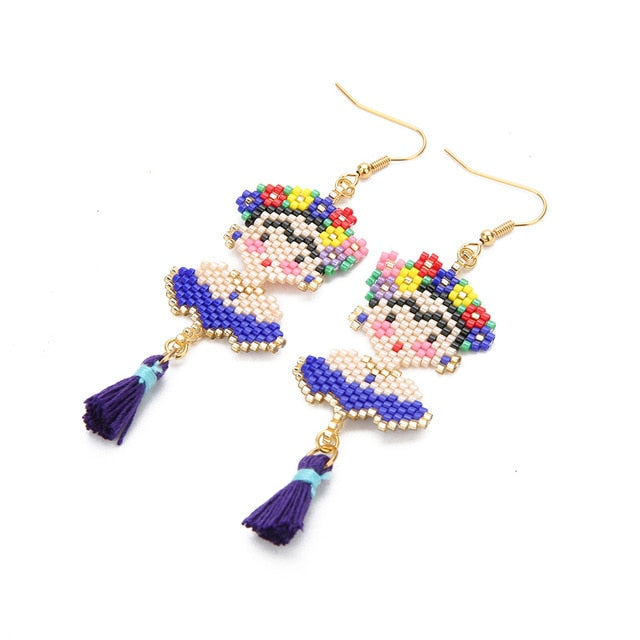 Frida Drop Earrings