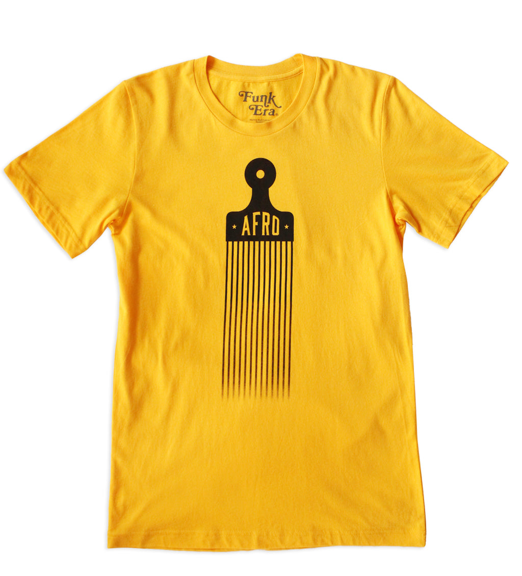 The Afro Pick Men's T-Shirt