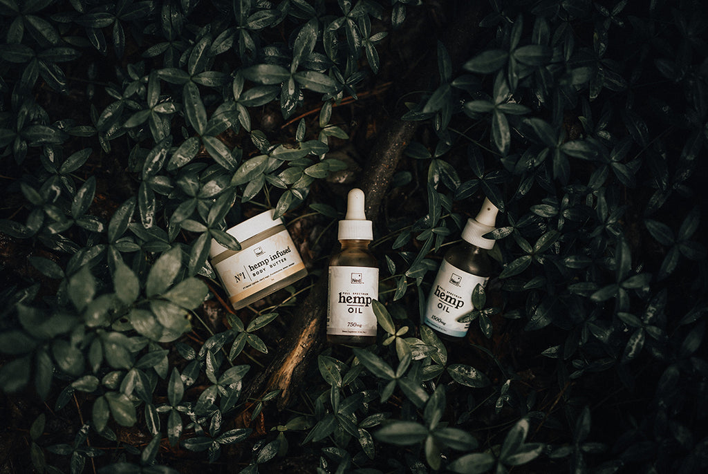 cbd products made with full spectrum hemp oil