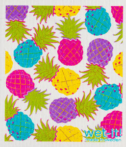 Wet-it! - Hawaiian Pineapple Swedish Cloth